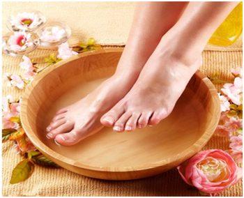 изображение уксусной ванночки от грибка